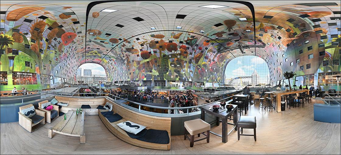 Markthalle Rotterdam 360°